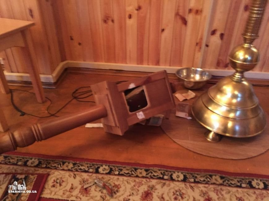 Под Одессой в новогоднюю ночь ограбили церковь (ФОТО) (фото) - фото 1