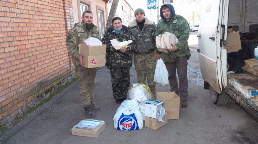 Волонтеры Кривого Рога организовали бойцам АТО настоящий Новый год с оливье и подарками (ФОТО) (фото) - фото 2