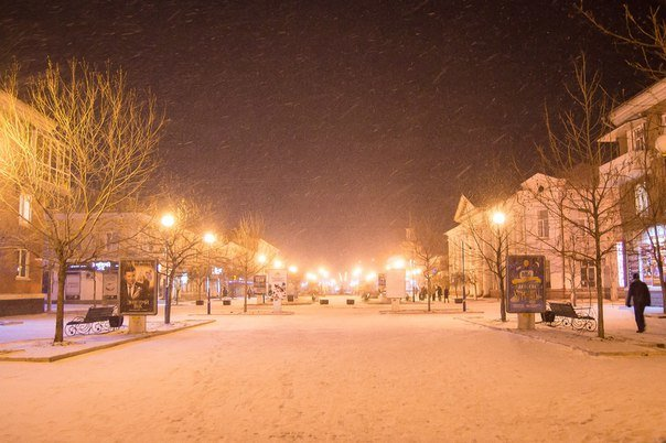 Зимний Бердянск, фото-1