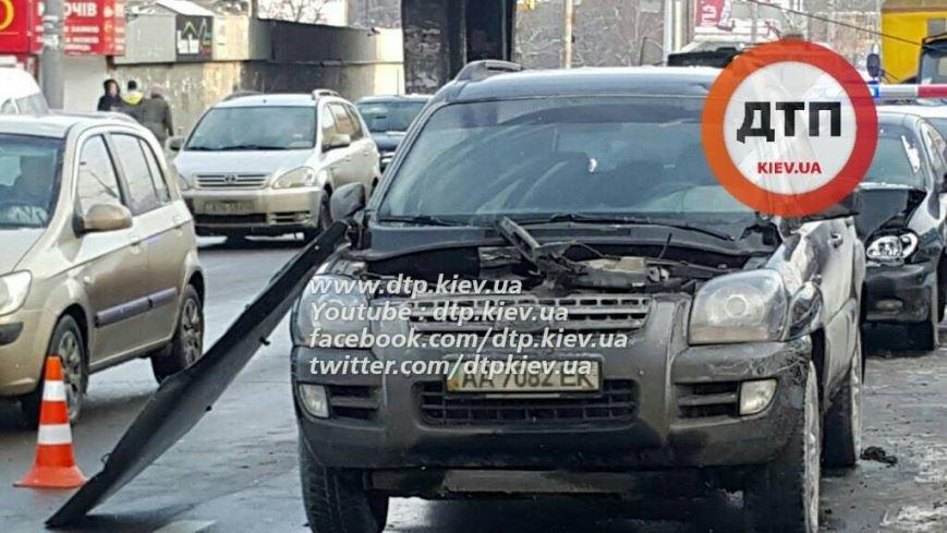 На Победы в ДТП попали 5 машин и автобус (ФОТО), фото-2