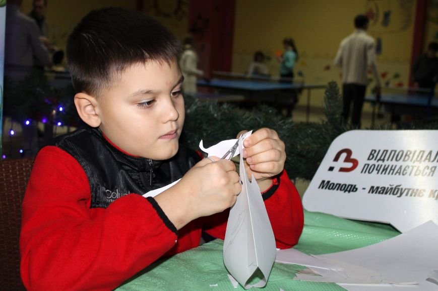 У Полтаві відбувся перший майстер-клас для дітей у 2016 році (фото) - фото 1