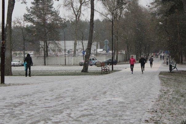 В Гродно 1 января прошел второй новогодний забег трезвости - поучаствовать пришли около 140 любителей бега (фото) - фото 2