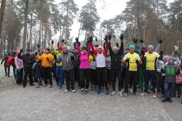 В Гродно 1 января прошел второй новогодний забег трезвости - поучаствовать пришли около 140 любителей бега (фото) - фото 1