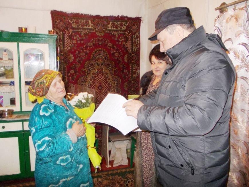 Мать-героиня из Красноармейского района получила награду от ДонОГА, фото-1