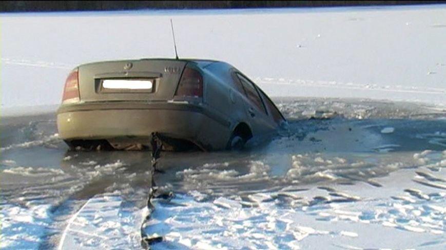 Зимние покатушки по Ворскле закончился провалом (фото и видео) (фото) - фото 1