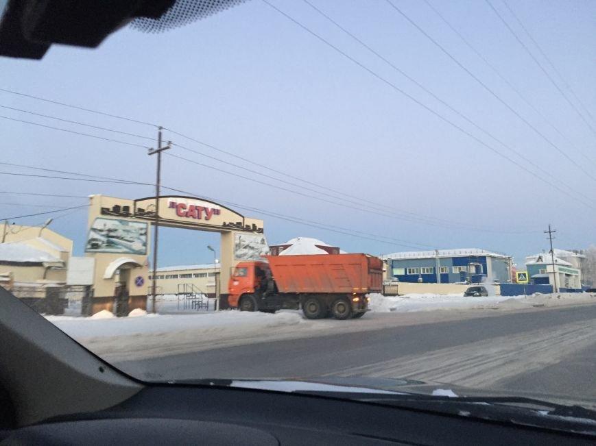"""""""Снег горой"""" или куда убрать снег с дороги, фото-1"""