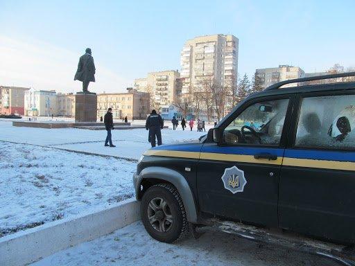 В Шостке заминировали Ленина? (ФОТО) (фото) - фото 1