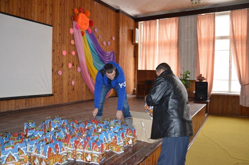 Авдеевские школьники получили сладкие подарки к Рождеству (ФОТО), фото-1