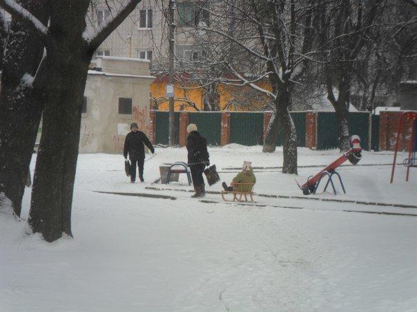 До Львова нарешті завітала справжня зима (ФОТО) (фото) - фото 2