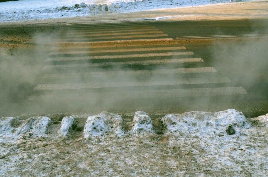 Через тиждень після снігопаду у Полтаві не почистили тротуари (ФОТО) (фото) - фото 1