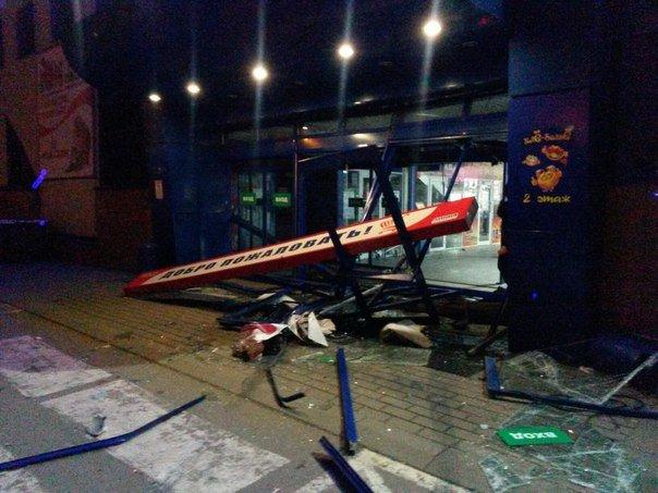 В Ульяновске водитель хотел протаранить гипермаркет, фото-3