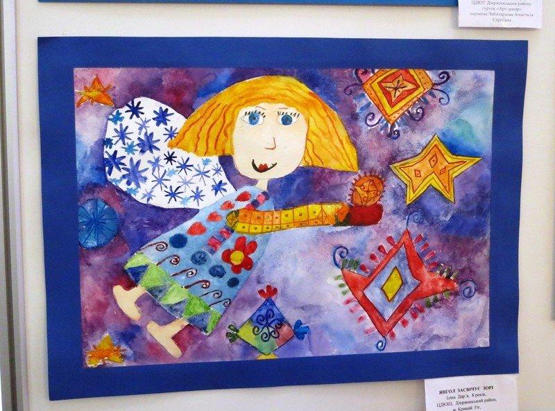 Юные художники Днепропетровска создают рождественскую сказку (ФОТО) (фото) - фото 3