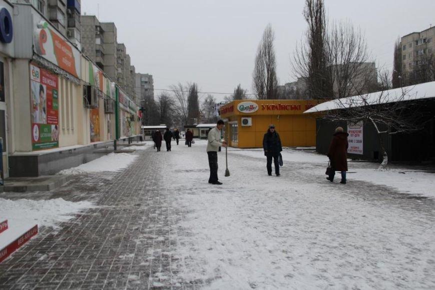 Мэр Кременчуга отругал предпринимателей за неубранный снег, фото-3