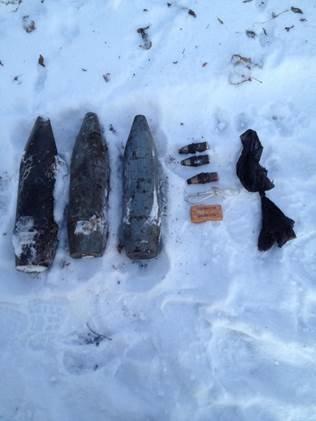 Около Мариуполя обнаружен тайник с оружием (ФОТО) (фото) - фото 1