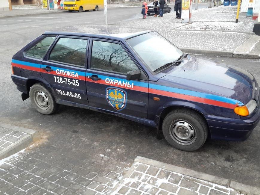 Одесская служба охрана оказались еще теми мастерами парковки (ФОТО) (фото) - фото 1