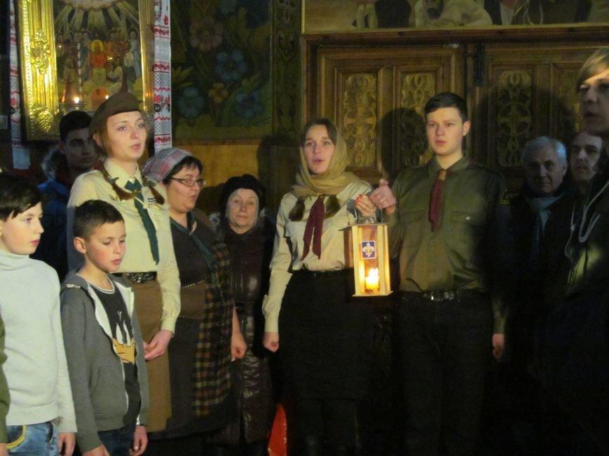 У Кременчук привезли Вифлеємський вогонь миру (ВІДЕО, ФОТО), фото-1