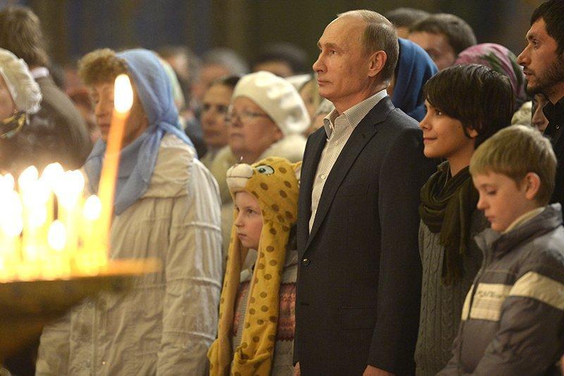 Владимир Путин встретил Рождество на своей малой родине под Тверью (фото) - фото 1