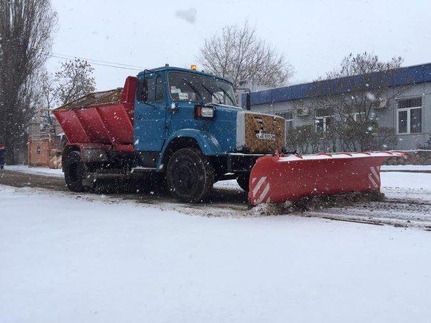 На Рождество в Кривом Роге снег перешел в дождь. Ночью ожидается снижение температуры (ФОТО) (фото) - фото 1