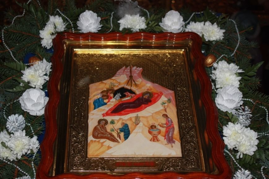 Торжество Рождества Христова в Свято-Покровском храме с. Боевое (фото) - фото 1