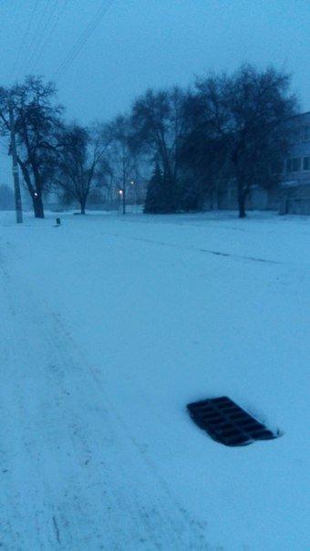 В Днепропетровске борются со снегопадом (ФОТО) (фото) - фото 3