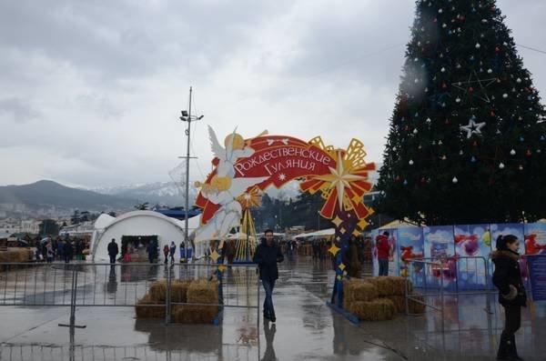 Рождественские гулянья в Ялте (фото) - фото 1