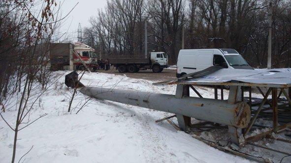 В Краматорске из-за гололеда столкнулись три автомобиля (фото) - фото 3