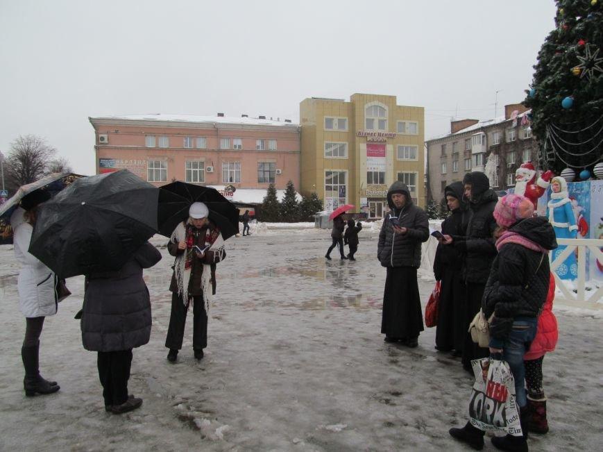 Через негоду львівський вертеп не зможе виступити у Кременчуці (ВІДЕО, ФОТО), фото-1