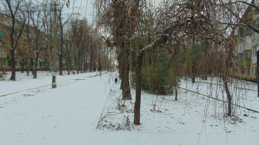 В Мариуполь после оттепели снова  вернулась зима (ФОТОРЕПОРТАЖ) (фото) - фото 1