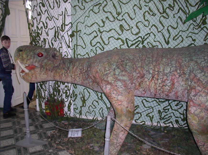 Саркозавры, динозавры и другие доисторические рептилии на выставке в Витебске (фото) - фото 1