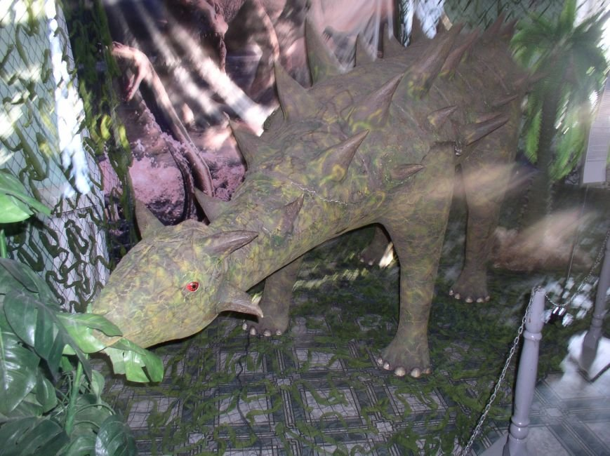 Саркозавры, динозавры и другие доисторические рептилии на выставке в Витебске (фото) - фото 4
