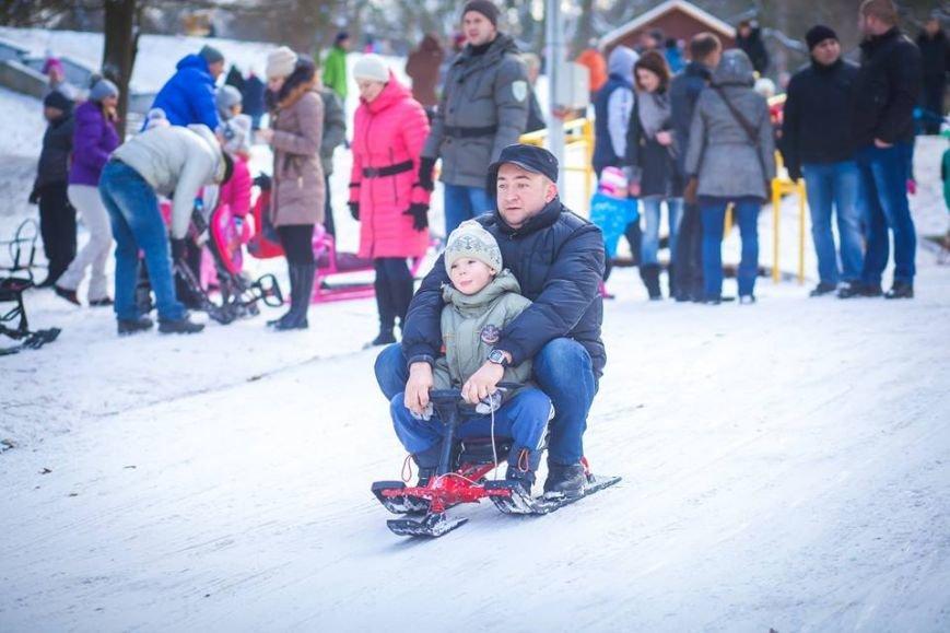 У Парку культури стартував сезон катання на санчатах (ФОТОРЕПОРТАЖ), фото-2