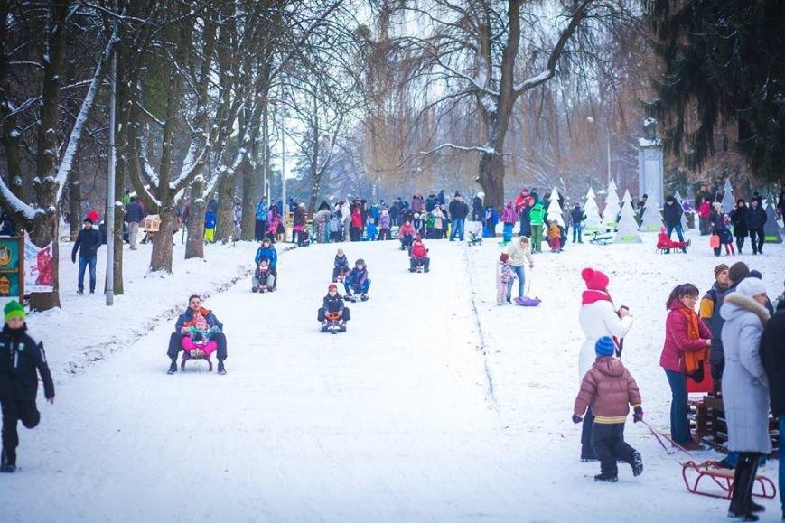 У Парку культури стартував сезон катання на санчатах (ФОТОРЕПОРТАЖ), фото-8