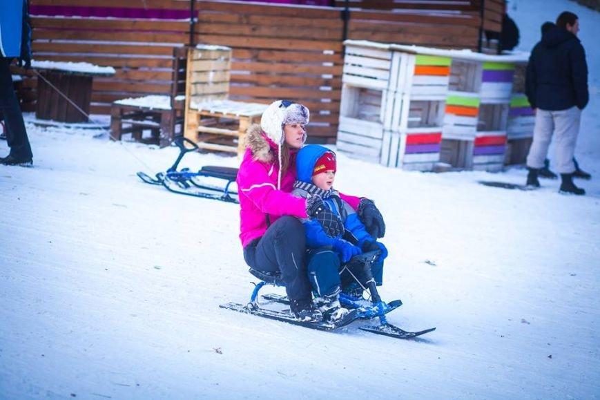 У Парку культури стартував сезон катання на санчатах (ФОТОРЕПОРТАЖ), фото-1