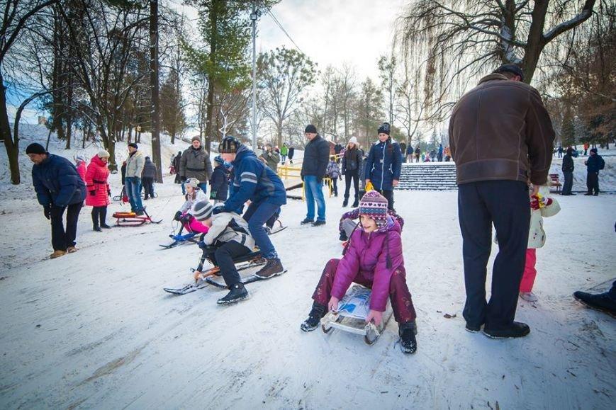 У Парку культури стартував сезон катання на санчатах (ФОТОРЕПОРТАЖ), фото-6