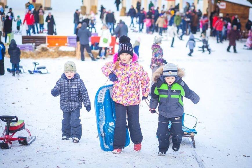 У Парку культури стартував сезон катання на санчатах (ФОТОРЕПОРТАЖ), фото-4
