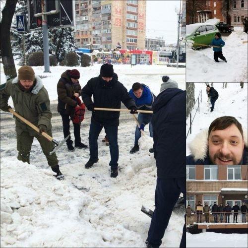 азовці сніг
