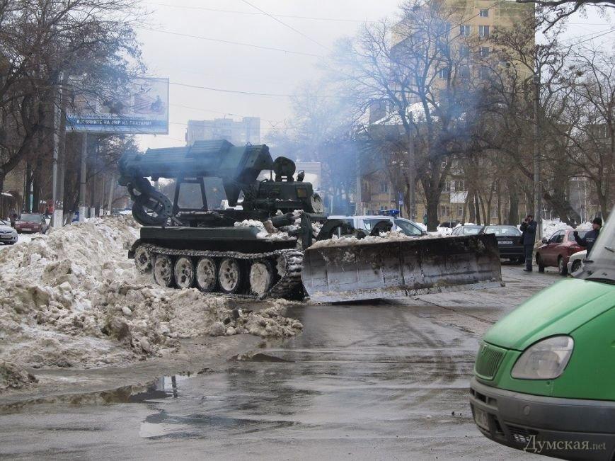 Харьковские дороги продолжает расчищать тяжелая техника, фото-1