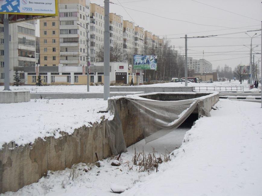 В районе недействующего подземного перехода в Витебске пешеходы нарушают ПДД (фото) - фото 2
