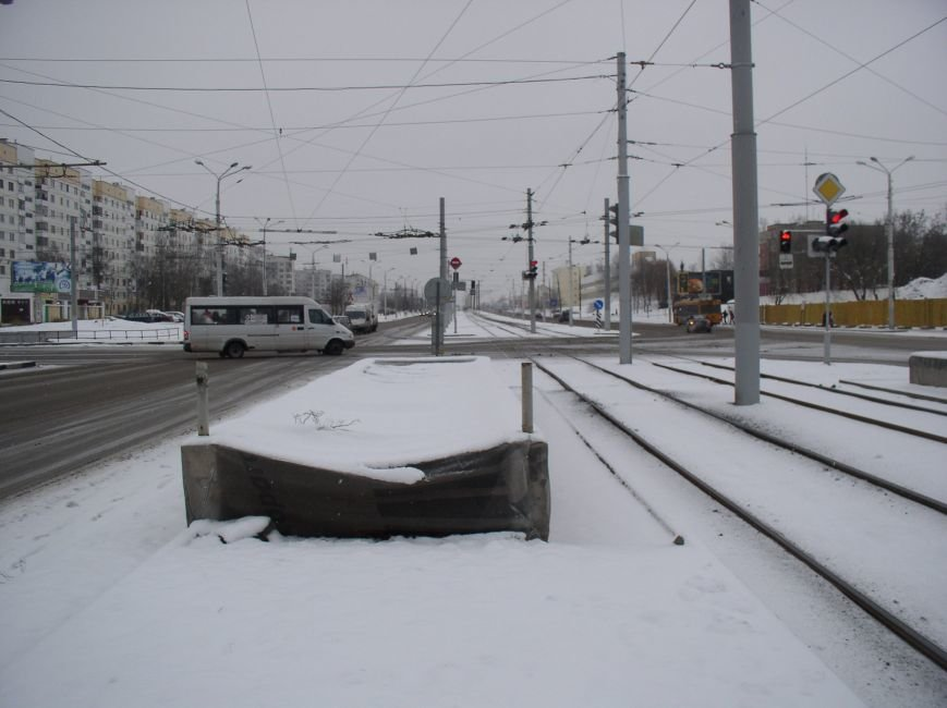 В районе недействующего подземного перехода в Витебске пешеходы нарушают ПДД (фото) - фото 1