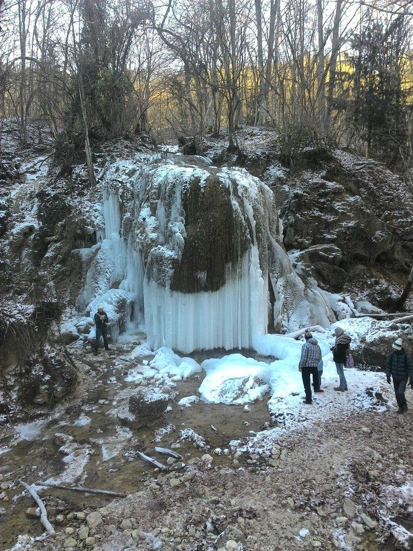 В соцсетях крымчане сообщают об обрушении одного из красивейших водопадов Крыма (ФОТО) (фото) - фото 3
