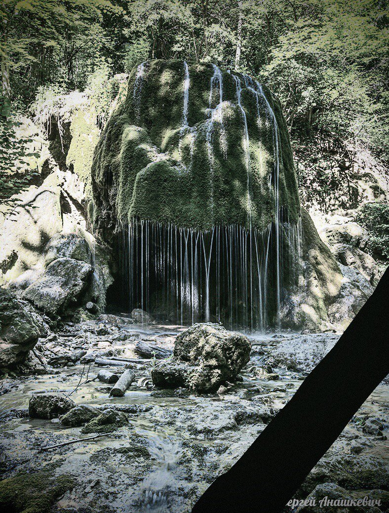 В соцсетях крымчане сообщают об обрушении одного из красивейших водопадов Крыма (ФОТО), фото-6