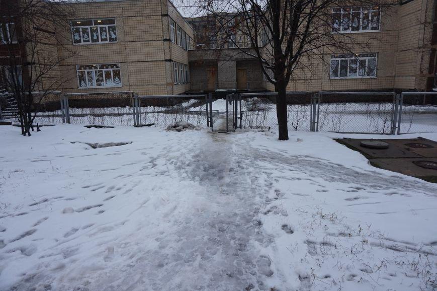 Маленькие криворожане добирались в школу и детские сады по расчищенным дорогам (ФОТО) (фото) - фото 2