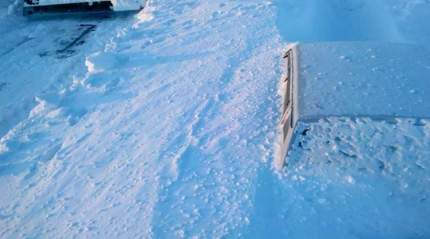 На трассе в Оренбурге развернулся новогодний триллер (фото) - фото 1
