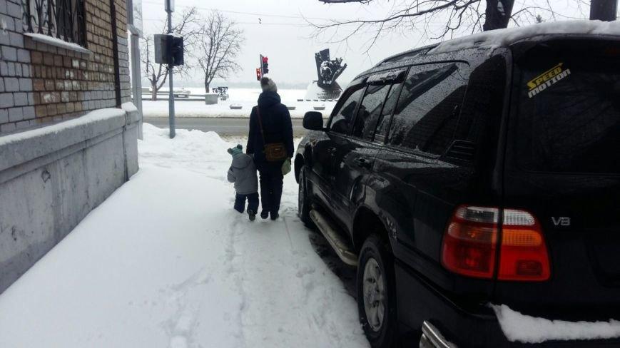 Днепропетровск. Снег. Как город борется со стихией (фото) - фото 11