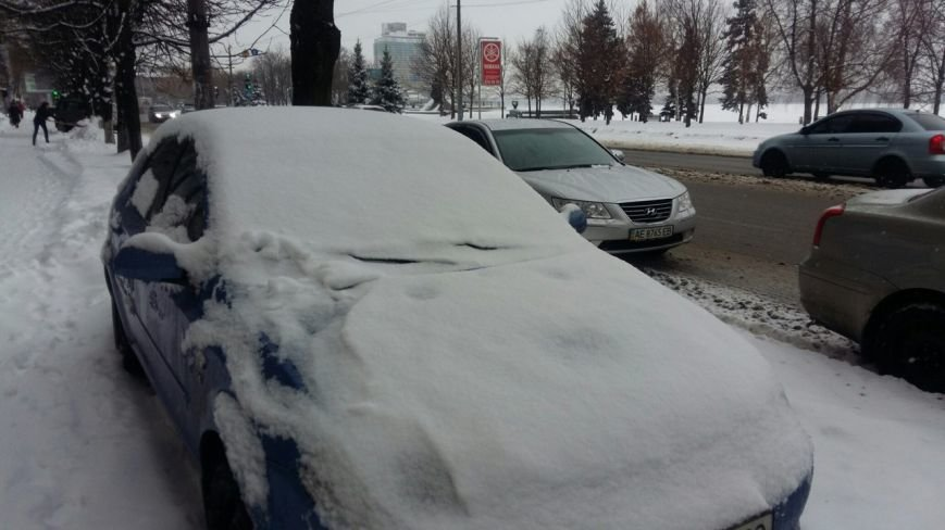 Днепропетровск. Снег. Как город борется со стихией (фото) - фото 4