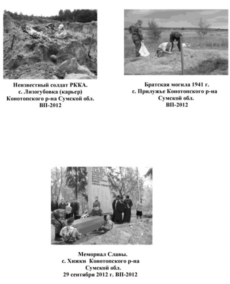 Дорогами 1941-го. Конотоп. Книга памяти (фото) - фото 1