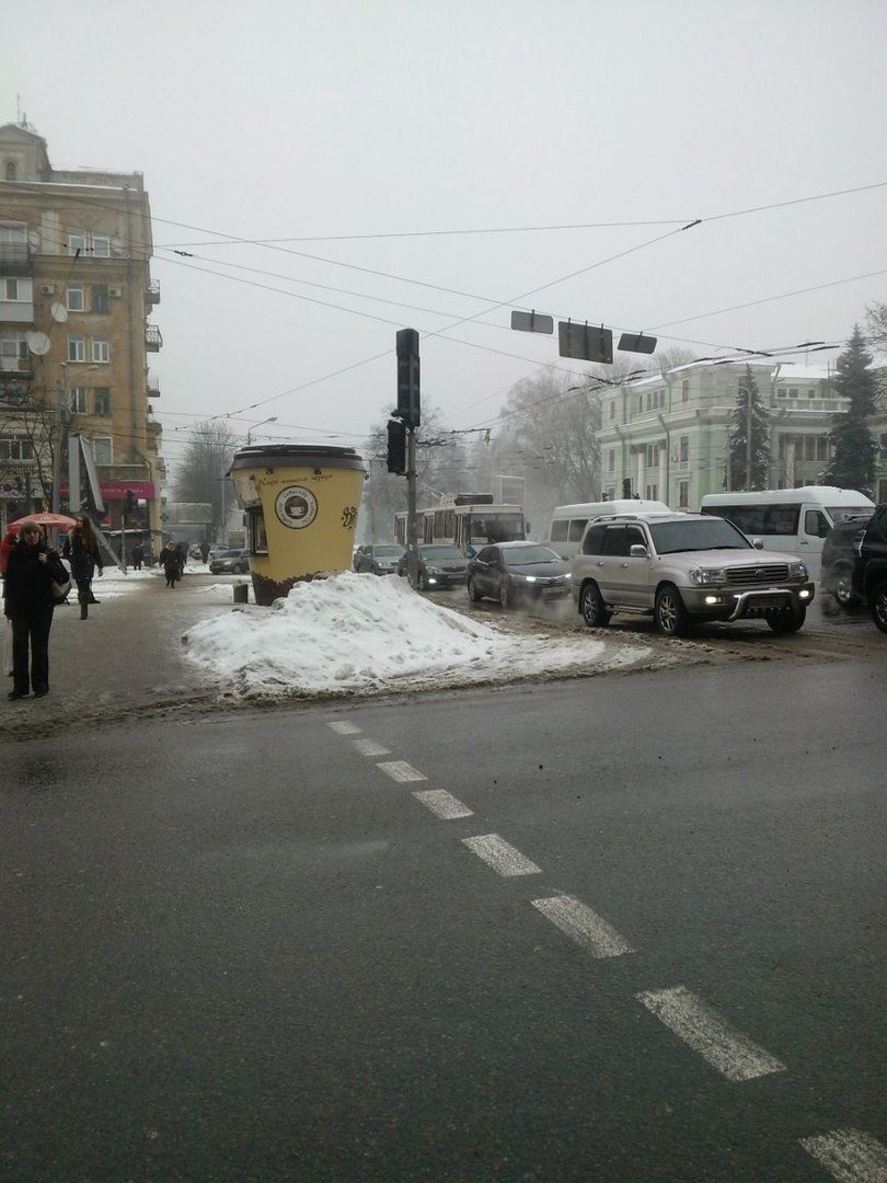 В Днепропетровске при плохой погоде не работают светофоры (ФОТО) (фото) - фото 1