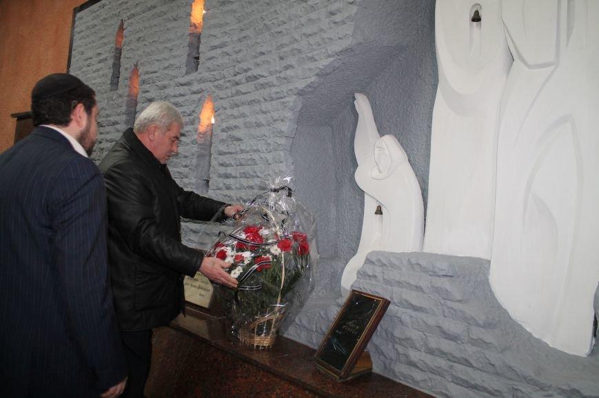 В Артемовске-Бахмуте почтили память жертв геноцида еврейского народа, фото-4