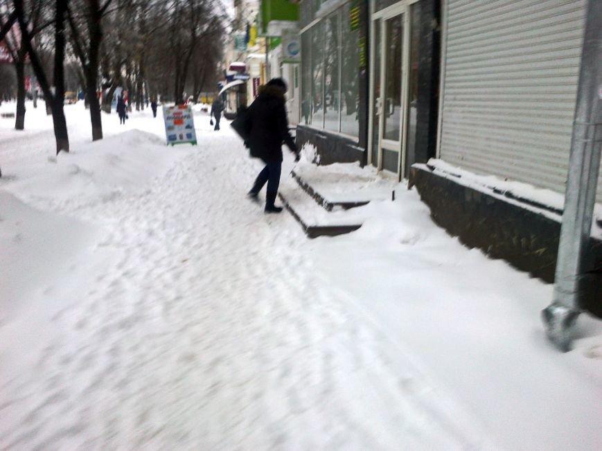 Випробування снігом у Полтаві (ФОТО) (фото) - фото 1
