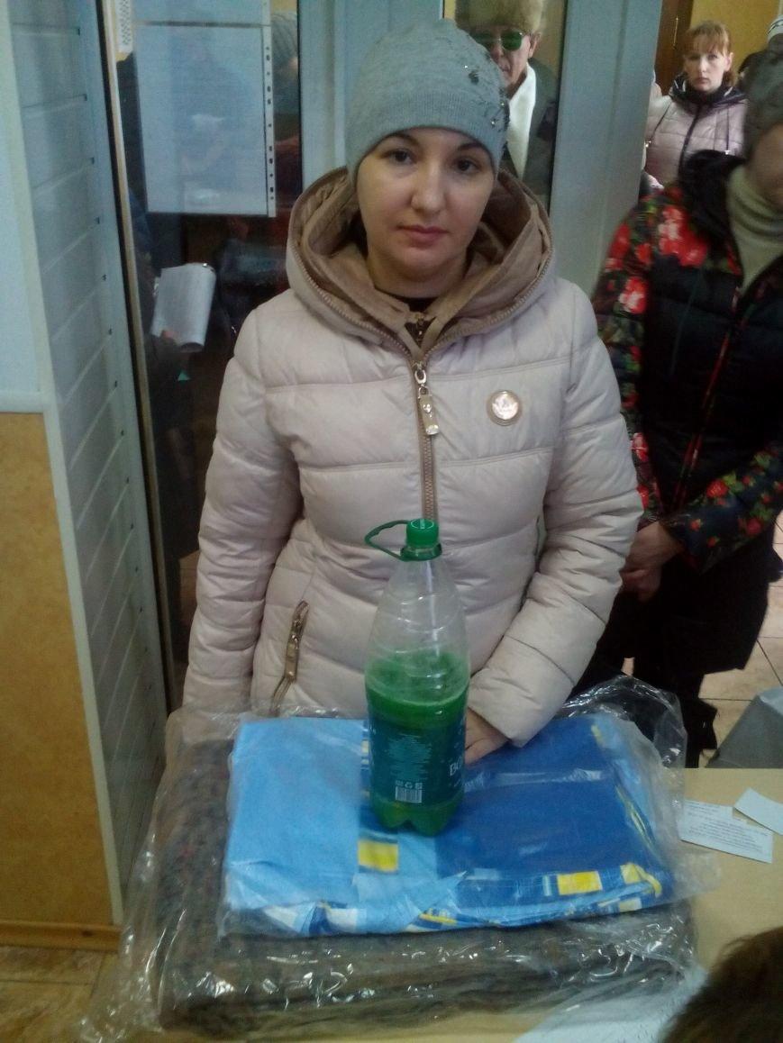 Сегодня переселенцы, живущие в Красноармейске, получили гуманитарную помощь (фото) - фото 7